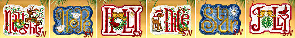 2009 Winter Greetings Kits  from Mill Hill - click to see more