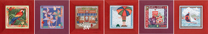 Mill Hill Spring 2014 Button & Bead Kits - click for more