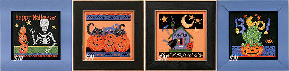 Mill Hill Presents Frightful Delights in Cross Stitch! - click for more