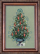 Nora Corbett's 2008 Annual Christmas Tree! from Mirabilia Designs - click to see more