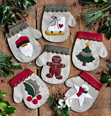 Warm Hands Felt Ornament Kit from Rachels of Greenfield - click to see more