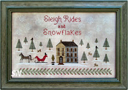 Sleigh Rides and Snowflakes from The Scarlet House - click for more
