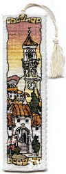 Michael Powell Spanish Hill Town Bookmark -- click for a larger view
