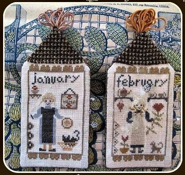 Amish Girls January & February from Nikyscreations