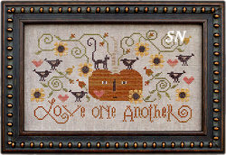 Love One Another from Plum Street Samplers - click for more