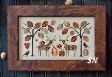 Deer Friends from Plum Street Samplers - click for more