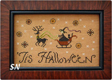 Tis Halloween from Plum Street Samplers - click for more