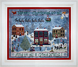 Carols on the Square from Praiseworthy Stitches - click for more