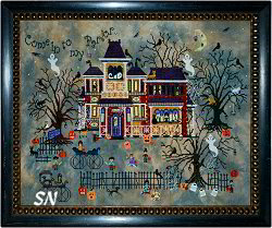 Widow Black's B & B from Praiseworthy Stitches - click for more