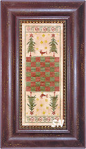 Yule Game Board from The Primitive Needle -- click to see more