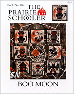 Prairie Schooler's #189 Boo Moon Leaflet -- click to see more