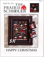 Prairie Schooler's #190 Happy Christmas Leaflet -- click to see more