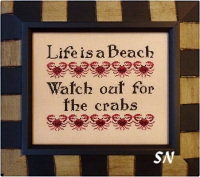 Life is a Beach from Queenstown Samplers - click to see more