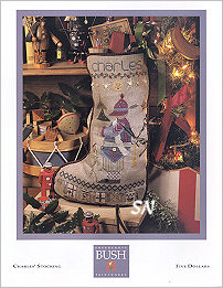 Charles' Stocking from Shepherd's Bush - click for a larger view