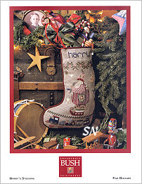 Harry's Stocking from Shepherd's Bush - click for a larger view