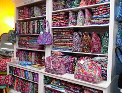 Part of our Vera Bradley area - click to see more