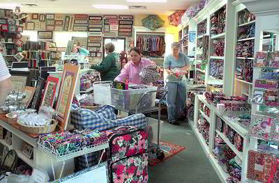 Our new Vera Bradley area