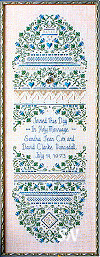Wedding and Anniversary Sampler from The Sweetheart Tree - click to see more