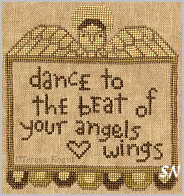 Angels Wings in cross stitch from Teresa Kogut -- click to see more