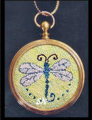 Dragonfly Pendant by Teresa Layman -- click to see more