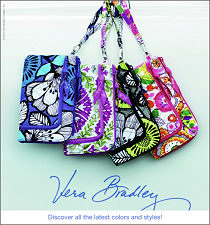 New Vera Bradley Colors - click to see more