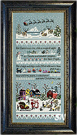 Santa's Village Sampler from The Victoria Sampler - click for more