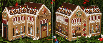 Gingerbread Bakery from The Victoria Sampler - click for more