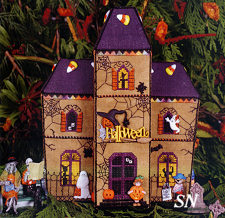 Gingerbread Haunted House from The Victoria Sampler - click for more
