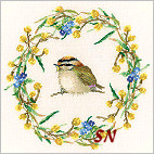 Spring Seasonal Garland from Valerie Pfeiffer - click to see more